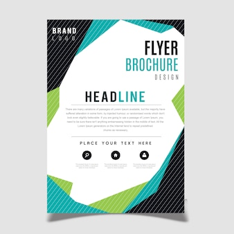 Creative Vector Brochure Template