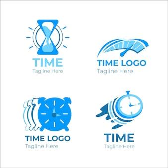 Creative watch logo templates