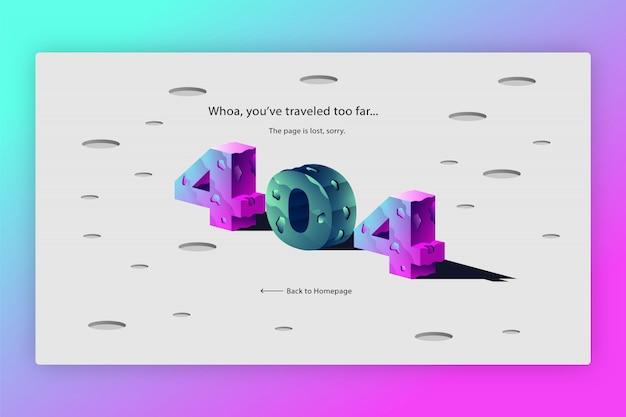 Creative web page template
