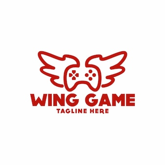 Дизайн логотипа creative wings
