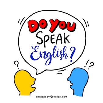 Creative do you speak english background