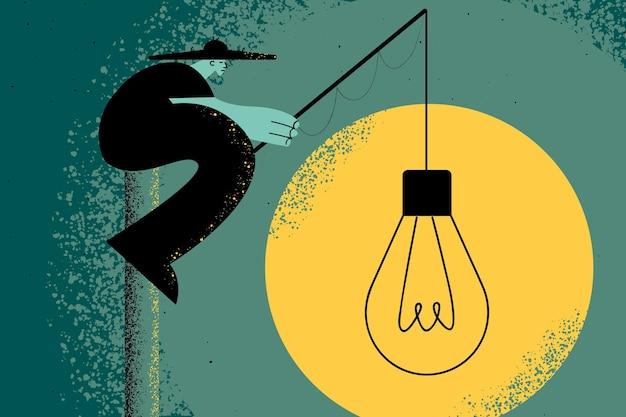 創造性とイノベーションの概念図