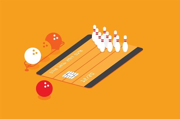 Иллюстрация для кредитных карт