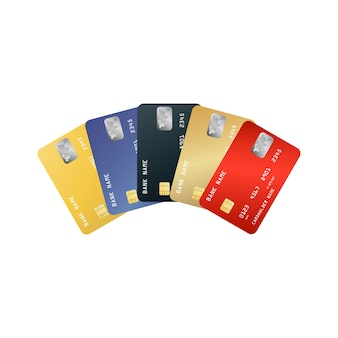 신용 카드 세트