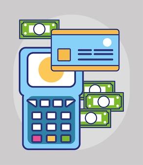 Credit payment pos terminal