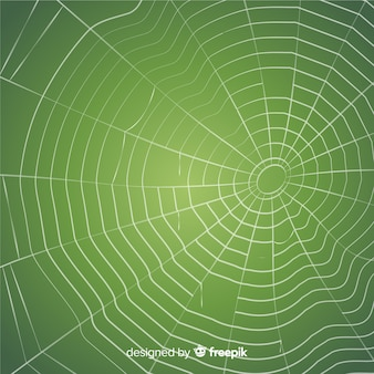 Creepy cobweb background