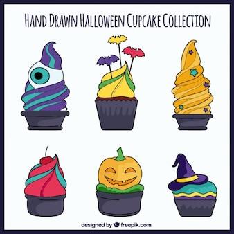 Creepy cupcakes for halloween