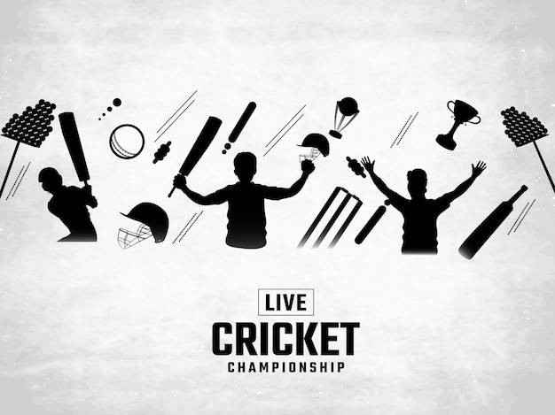Cricket background.