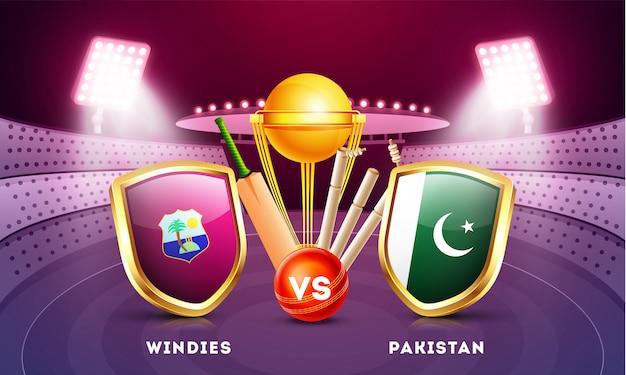 Cricket championship background.