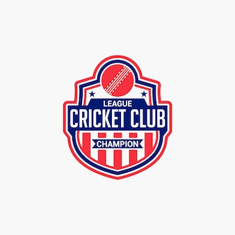 Cricket club badge