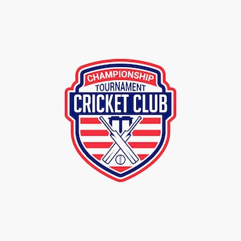 Cricket club badge