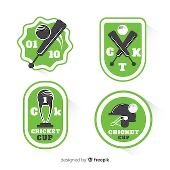 Cricket label collection