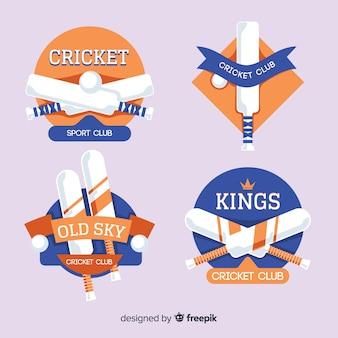 Cricket label set