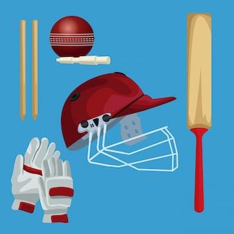 Crickets equipment elements