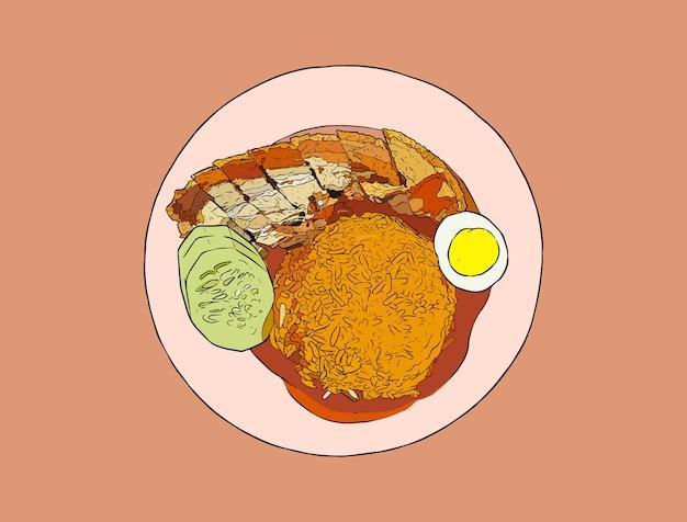 新鮮な豚の腹米