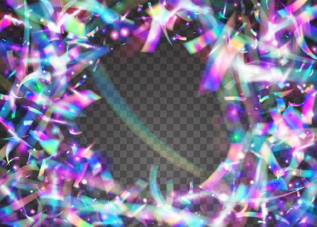 Cristal tinsel. металлический элемент. легкие блики. ретро реалистичный солнечный свет. яркое искусство