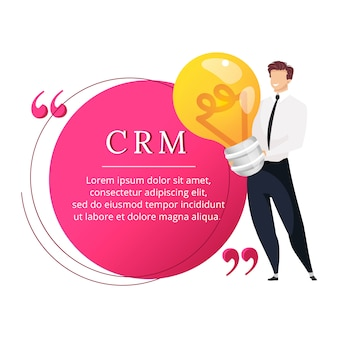 Crm   character quote
