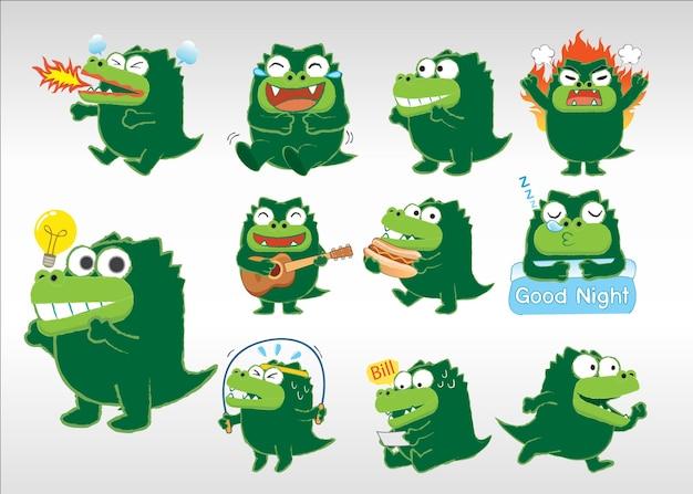 Crocodile acting