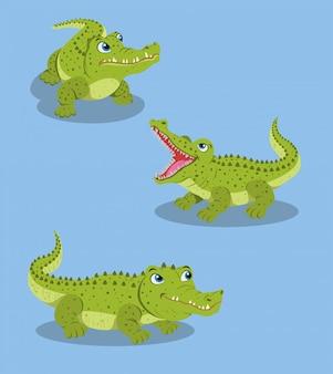 Крокодил искусство