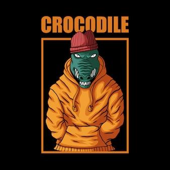 Crocodile fashion