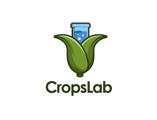Crops beaker logo