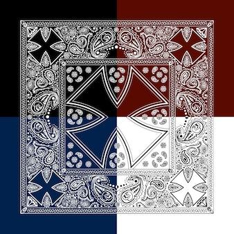 Cross background design
