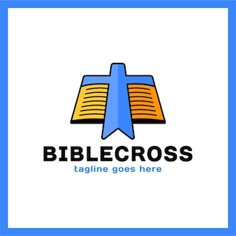 Cross bookmark icon