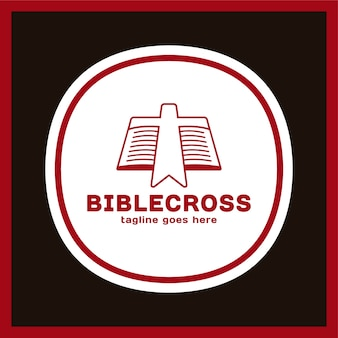 Cross bookmark icon.
