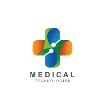 クロス医療ロゴベクトル
