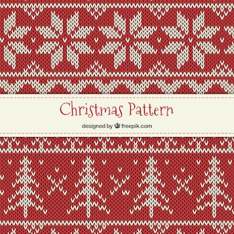 Cross stitch christmas pattern