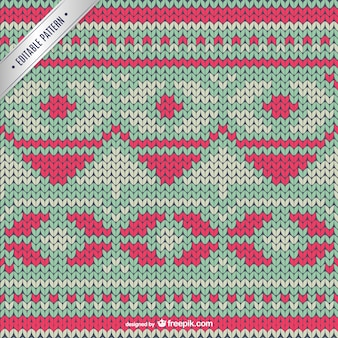Cross stitch winter pattern