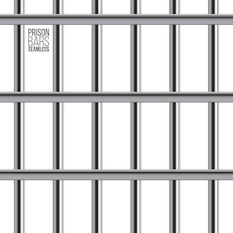 Crossed prison bar seamless pattern.