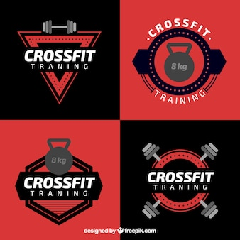 Crossfit black an red label collection