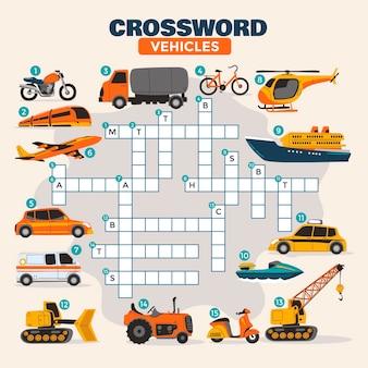 Crossword in english