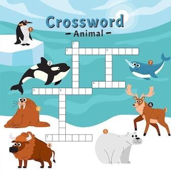 Кроссворд на английском для детей