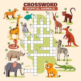 英語のクロスワード