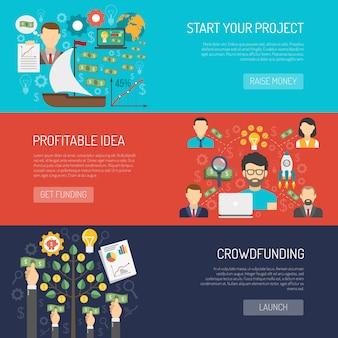 Crowdfundingバナーセット