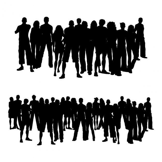 crowd vectors photos and psd files free download rh freepik com crowd vector silhouette crowd vector hd