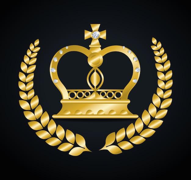 Crown digital design.
