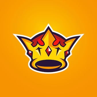 Crownesportsロゴテンプレート