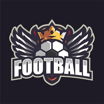 크라운 축구 팀 로고
