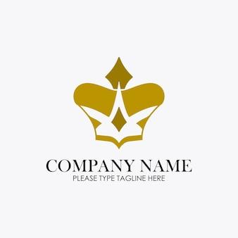 Логотип короны для ювелирной компании