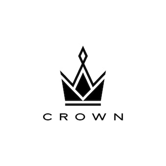 Crown logo  icon illustration