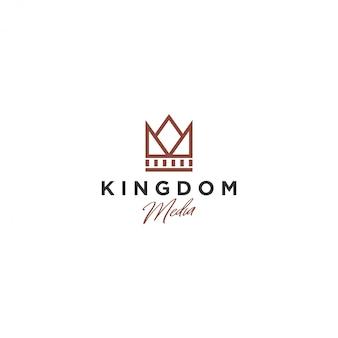 Crown logo, kingdom media