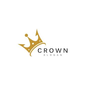 Crown logo template