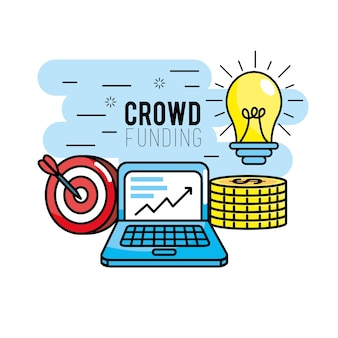Crowndfunding finance project to idea support