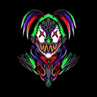 Cruel clown