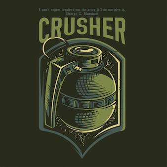 Crusher green