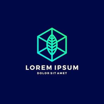 Crypto house home blockchain logo
