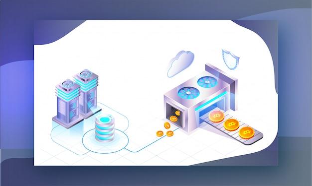 Crypto miningのコンセプト。